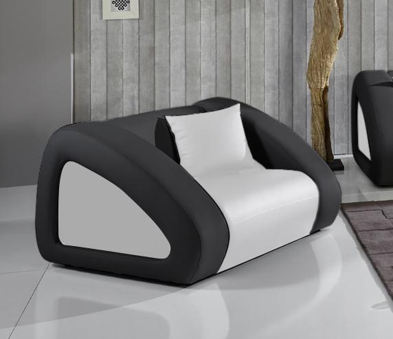 sam polster sofa garnitur wei schwarz schwarz ciao combi 3 2 1. Black Bedroom Furniture Sets. Home Design Ideas