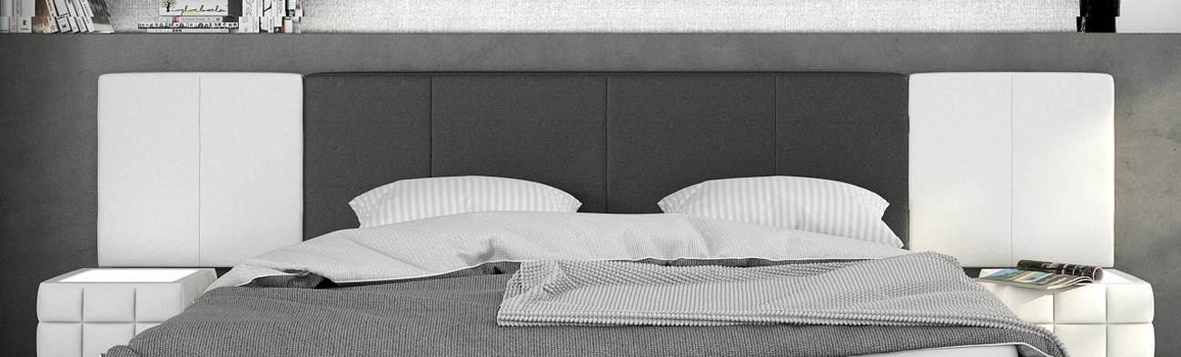 sam polsterbett 140 cm schwarz wei nemo mit soundsystem. Black Bedroom Furniture Sets. Home Design Ideas