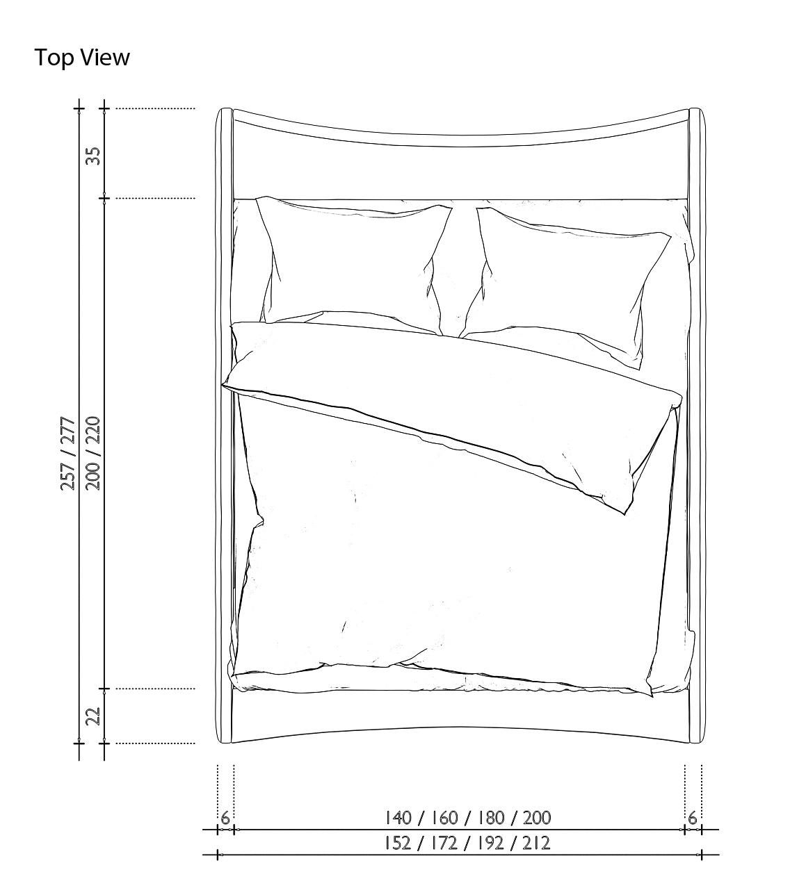 sam polsterbett 180 x 200 cm farbauswahl nurai. Black Bedroom Furniture Sets. Home Design Ideas