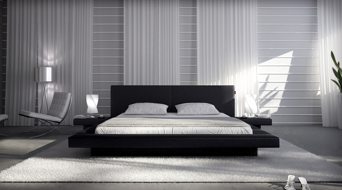 sam polsterbett innocent 200 x 200 cm black pearl. Black Bedroom Furniture Sets. Home Design Ideas