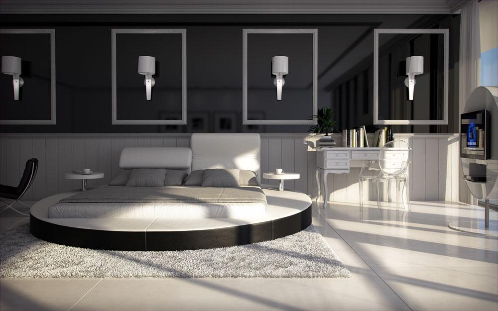 sam rundbett innocent 180 x 200 cm farbauswahl evory. Black Bedroom Furniture Sets. Home Design Ideas