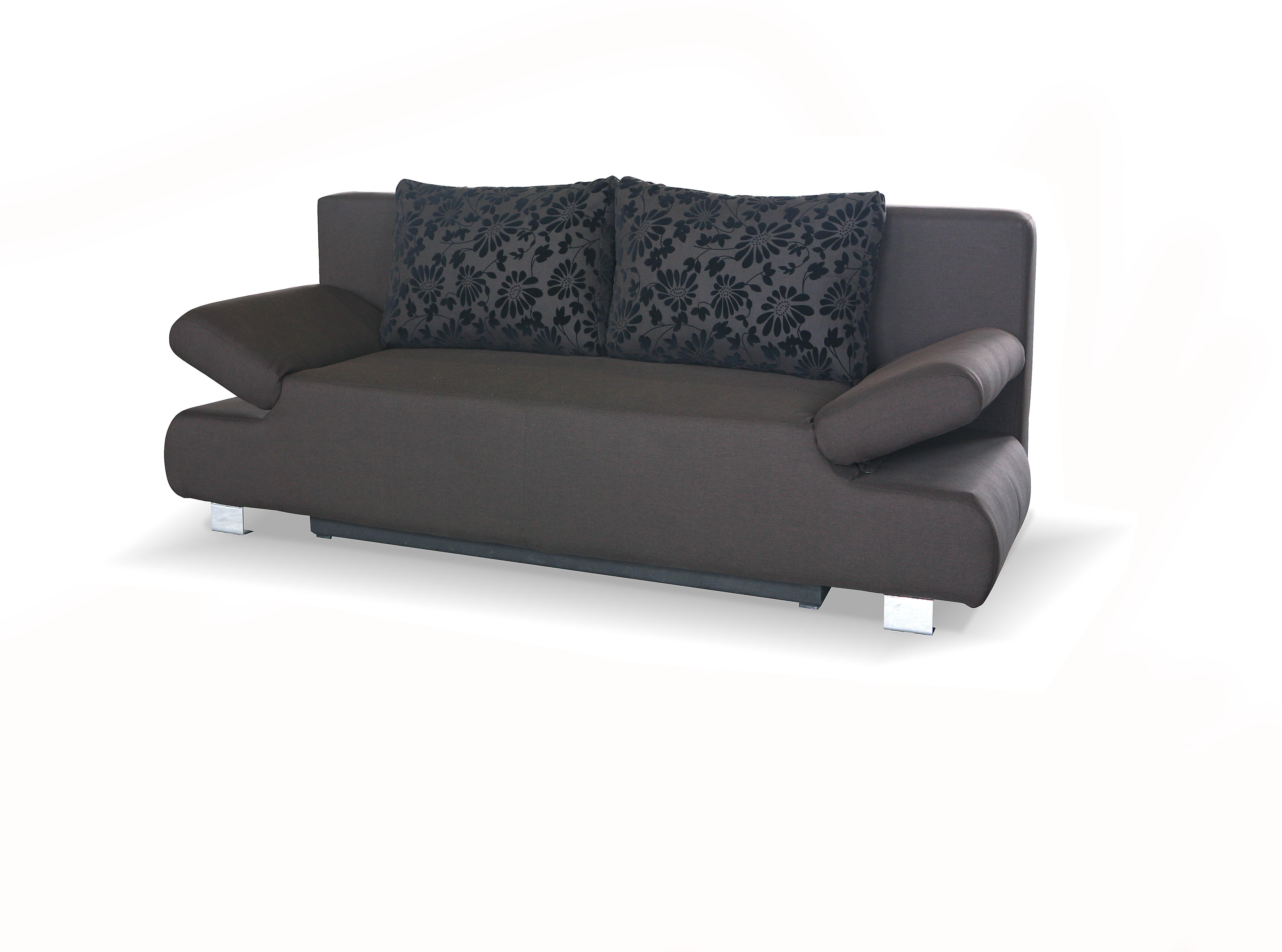 sam schlafsofa braun sofa reno 210 cm g nstig. Black Bedroom Furniture Sets. Home Design Ideas