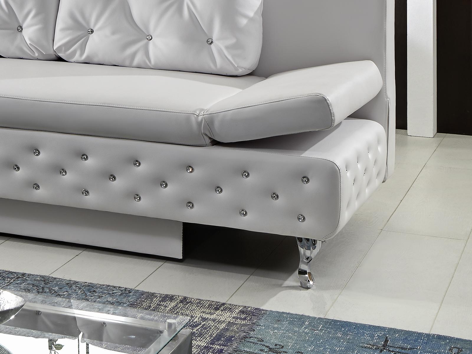 Sam schlafsofa wei sofa roxy 200 cm g nstig for Couch 200 cm