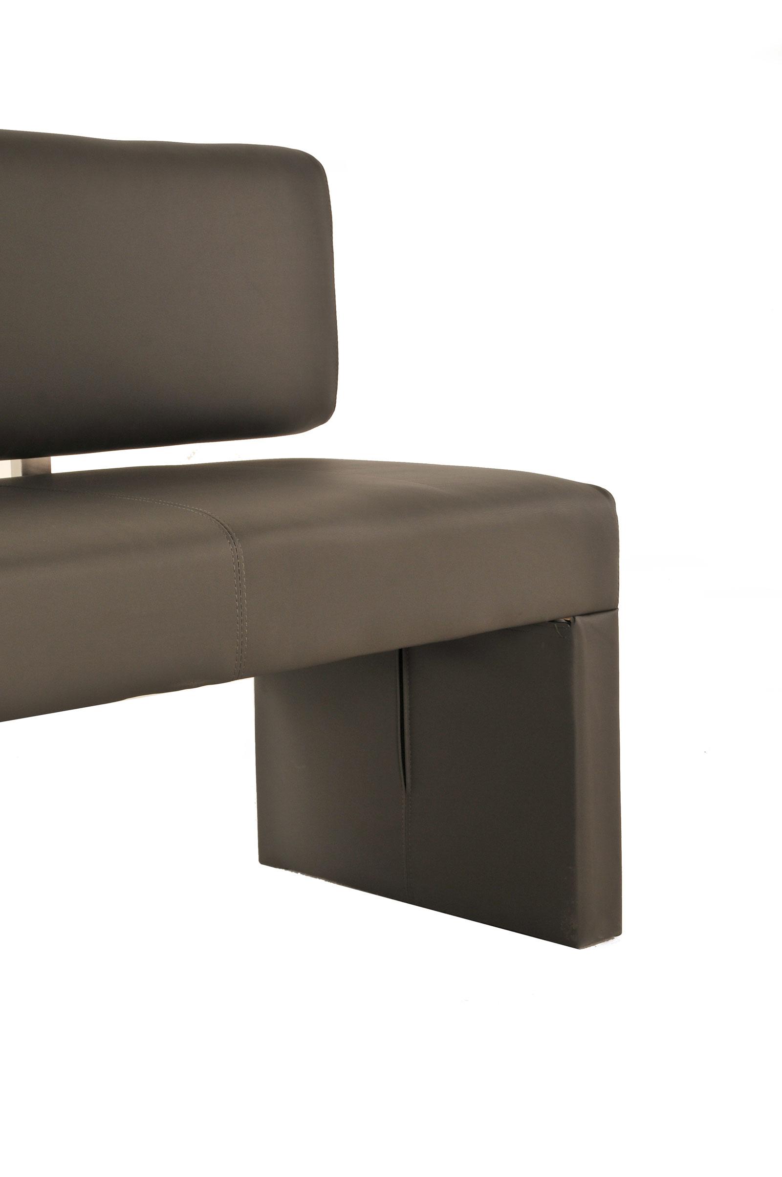 sam sitzbank 200 cm recyceltes leder muddy sina. Black Bedroom Furniture Sets. Home Design Ideas