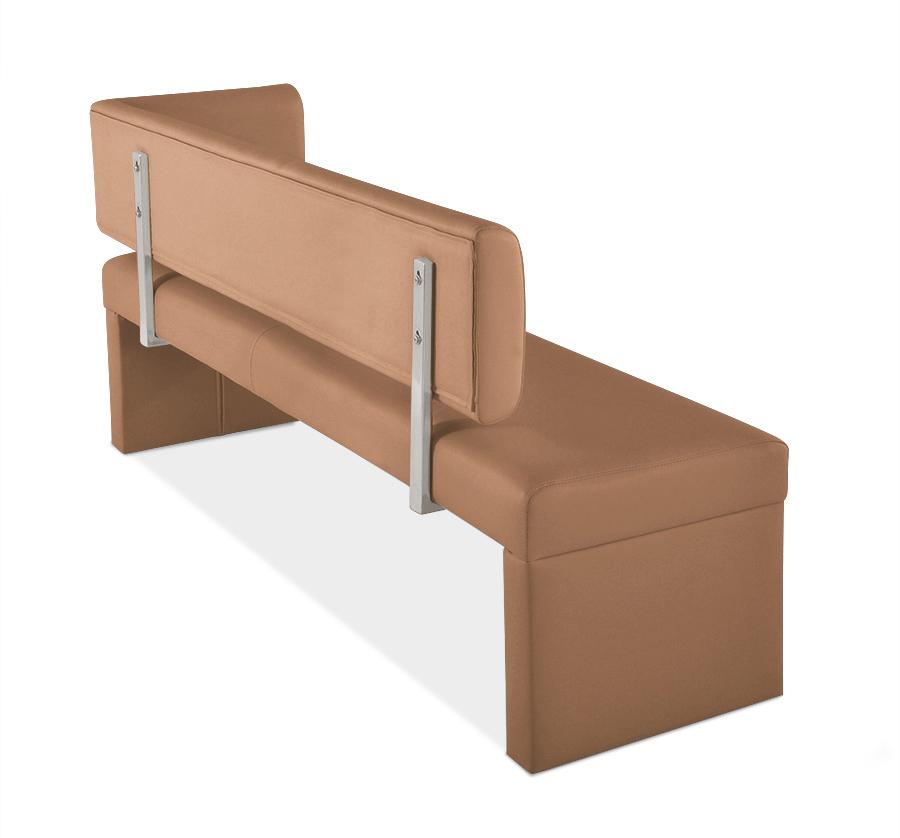 sam sitzbank ottomane recyceltes leder 170 cm sander. Black Bedroom Furniture Sets. Home Design Ideas