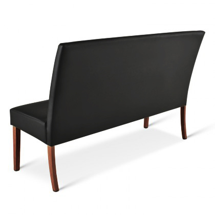 sam sitzbank schwarz kolonial 200 cm recyceltes leder stefano demn chst. Black Bedroom Furniture Sets. Home Design Ideas