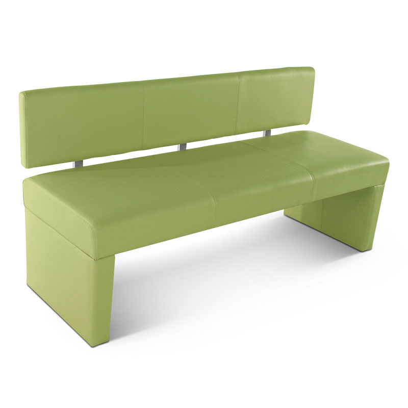 sam sitzbank sesto 140 cm recyceltes leder lemon green. Black Bedroom Furniture Sets. Home Design Ideas