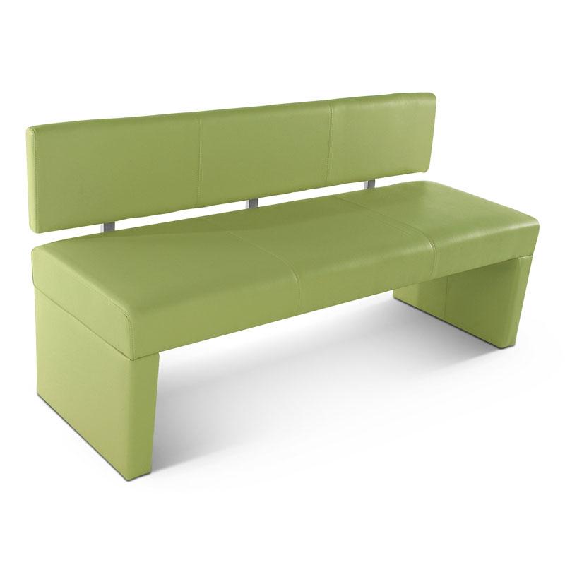 sam sitzbank sesto 140 cm recyceltes leder lemon green. Black Bedroom Furniture Sets. Home Design Ideas