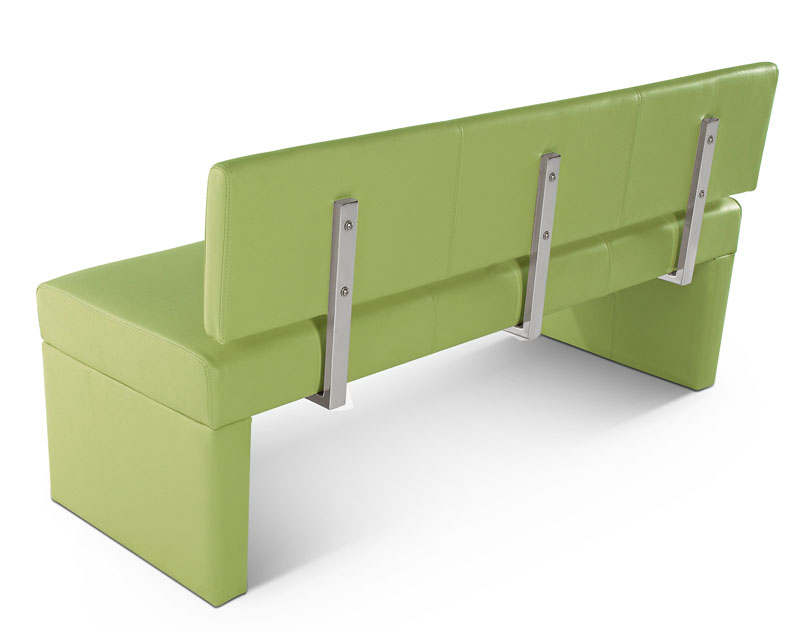 sam sitzbank sesto 164 cm recyceltes leder lemon green demn chst. Black Bedroom Furniture Sets. Home Design Ideas