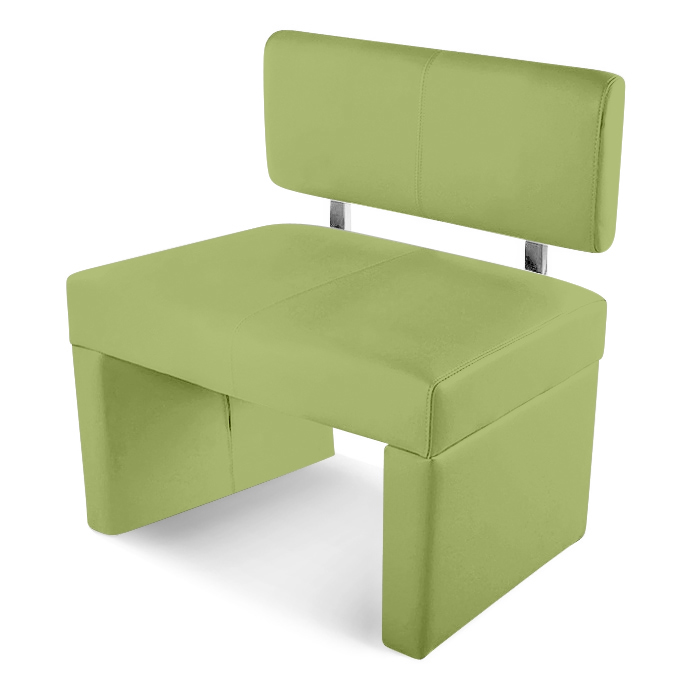 sam sitzbank sesto 80 cm recyceltes leder lemon green. Black Bedroom Furniture Sets. Home Design Ideas