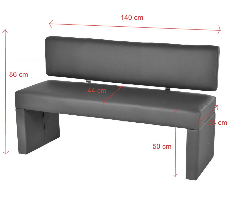 sam sitzbank sina 140 cm recyceltes leder muddy. Black Bedroom Furniture Sets. Home Design Ideas