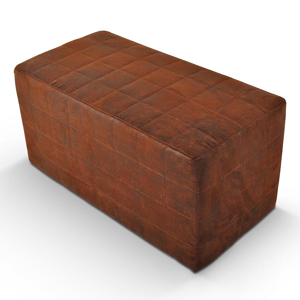sam sitzw rfel wildleder optik gobi braun kubus ii trend. Black Bedroom Furniture Sets. Home Design Ideas