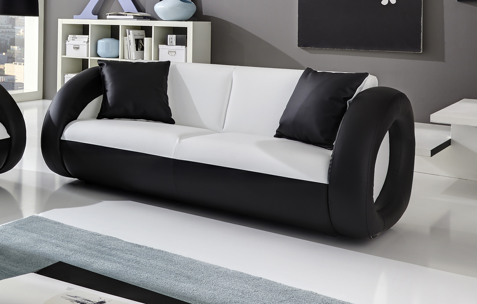 sam sofa garnitur farbauswahl onda 3 2 g nstig. Black Bedroom Furniture Sets. Home Design Ideas