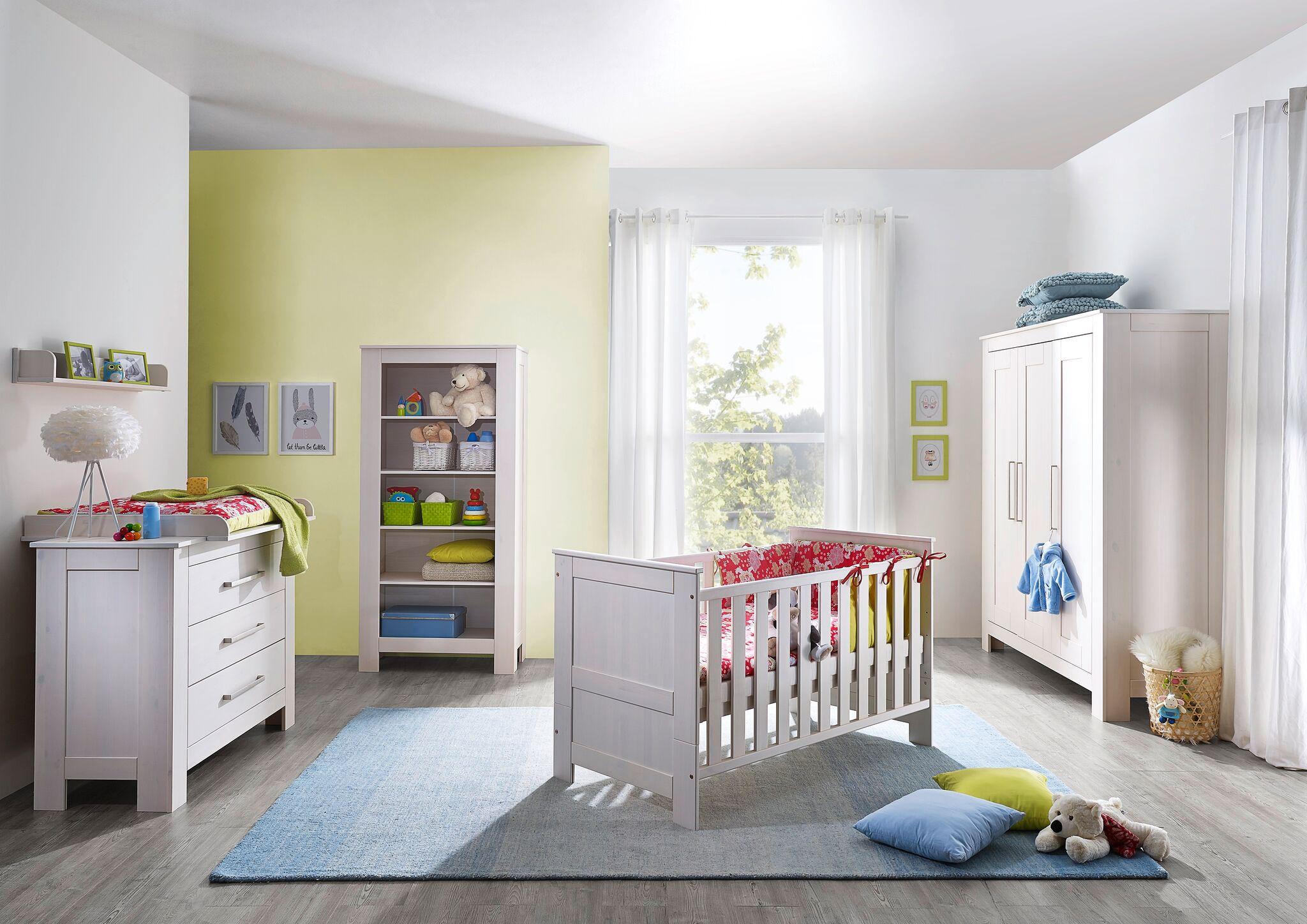 sam wickelkommode wei kiefer massiv 115 cm emma. Black Bedroom Furniture Sets. Home Design Ideas