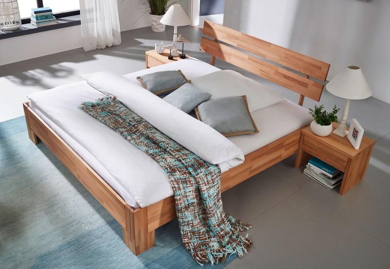 holzbetten m bel einebinsenweisheit. Black Bedroom Furniture Sets. Home Design Ideas