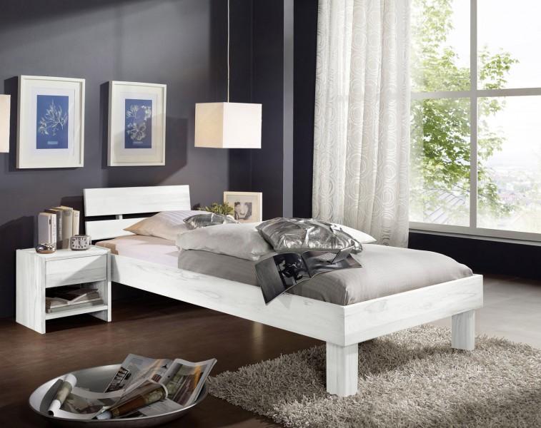 massivholz betten g nstig kaufen holzbetten von sam. Black Bedroom Furniture Sets. Home Design Ideas