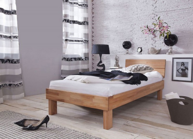 bett 120x200 cm g nstig kaufen breite einzelbetten von sam. Black Bedroom Furniture Sets. Home Design Ideas