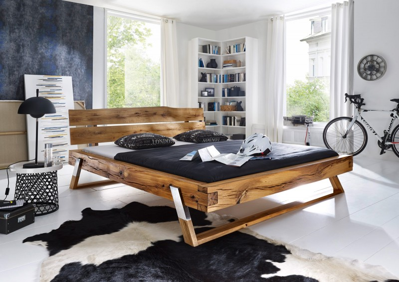 balkenbetten in 200x200 cm g nstig bei stilartm bel kaufen. Black Bedroom Furniture Sets. Home Design Ideas