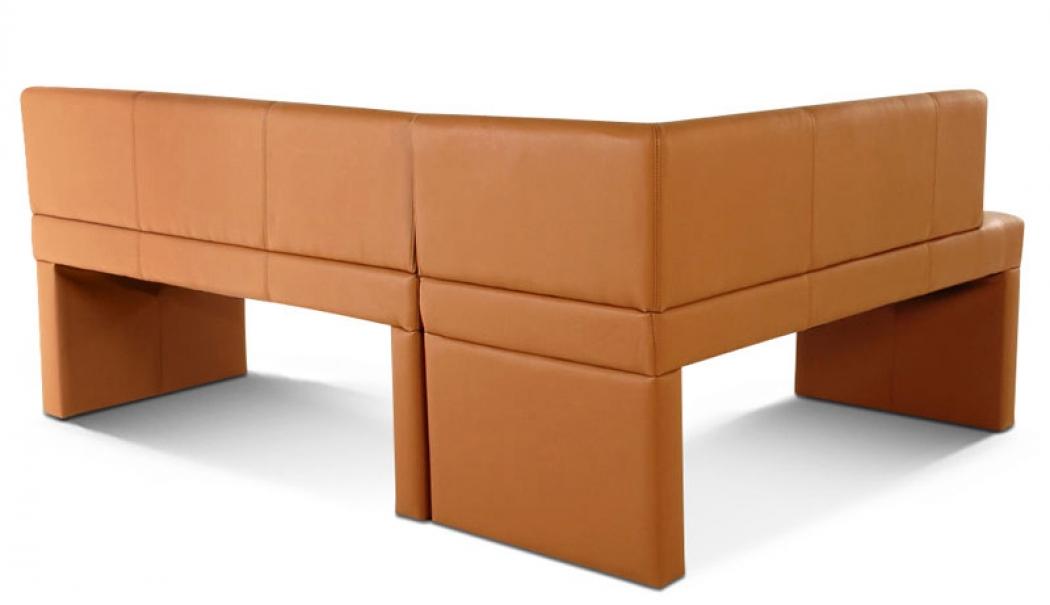 sam esszimmer eckbank recyceltes leder in cappuccino metz i. Black Bedroom Furniture Sets. Home Design Ideas