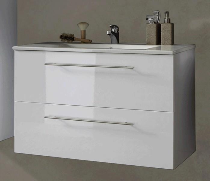 sam® 3tlg. badezimmer set weiß 90 cm rimini spiegelschrank demnächst!, Badezimmer ideen
