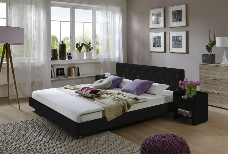 polsterbetten g nstig kaufen 140x200 cm betten von sam. Black Bedroom Furniture Sets. Home Design Ideas