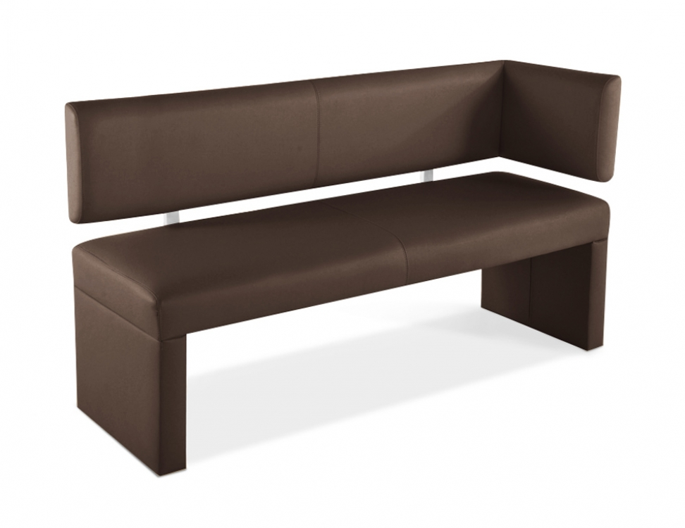 sam sitzbank ottomane 130 cm mit r ckenlehne in braun lasabrina. Black Bedroom Furniture Sets. Home Design Ideas