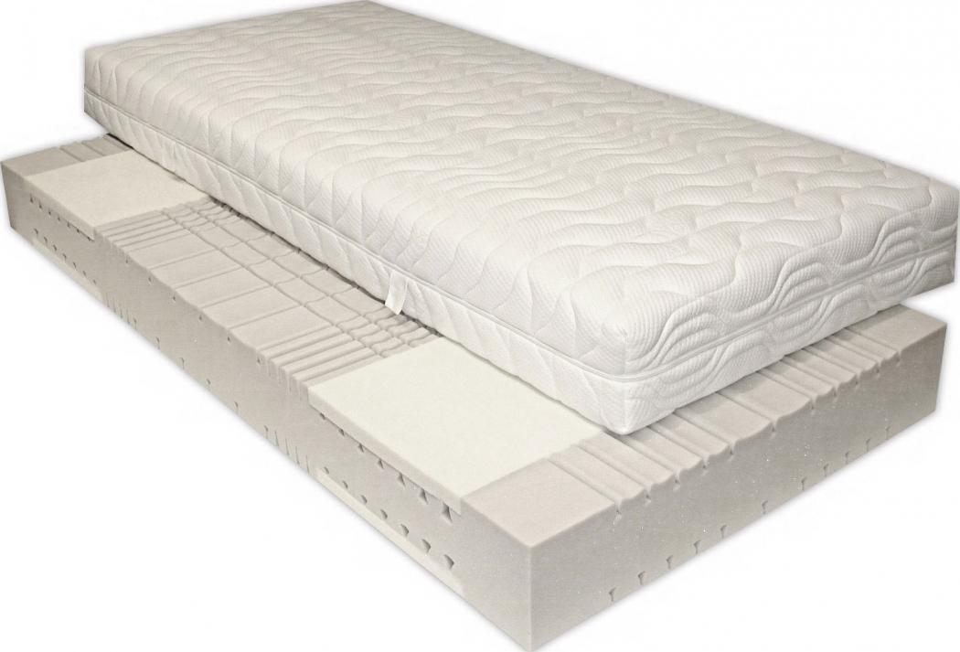 sam 7 zonen kaltschaum h2 visco matratze 80 x 200 cm passion. Black Bedroom Furniture Sets. Home Design Ideas