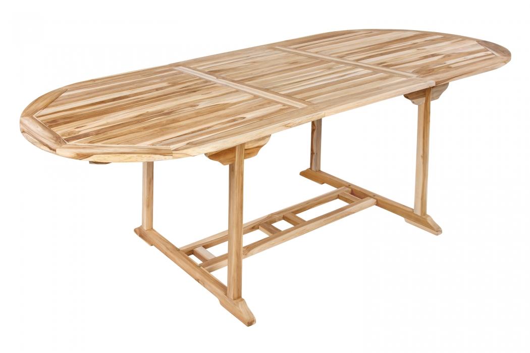 SAM® TEAK Gartentisch ausziehbar Teakholz 180 - 240 cm ARUBA Demnächst !