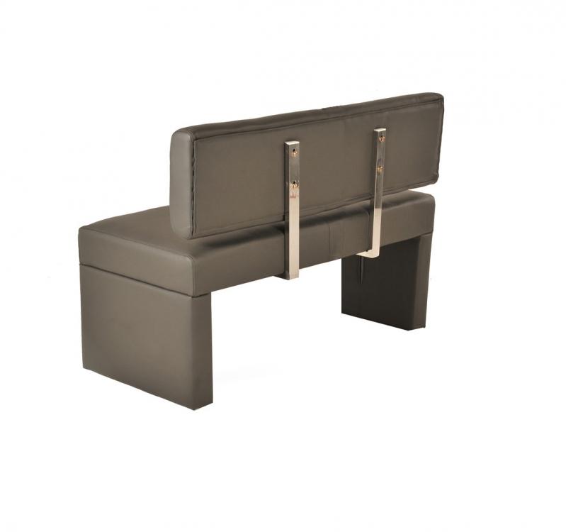 sam sitzbank mit lehne 80 cm muddy recyceltes leder sina. Black Bedroom Furniture Sets. Home Design Ideas