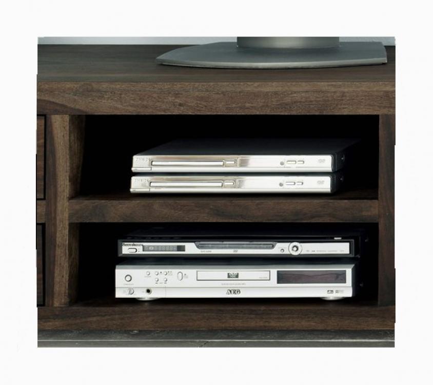 sale lowboard tv board 185x55 cm massivholz sheesham stone. Black Bedroom Furniture Sets. Home Design Ideas