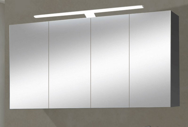 sam 4tlg badezimmer set spiegelschrank wei 120 cm rom. Black Bedroom Furniture Sets. Home Design Ideas