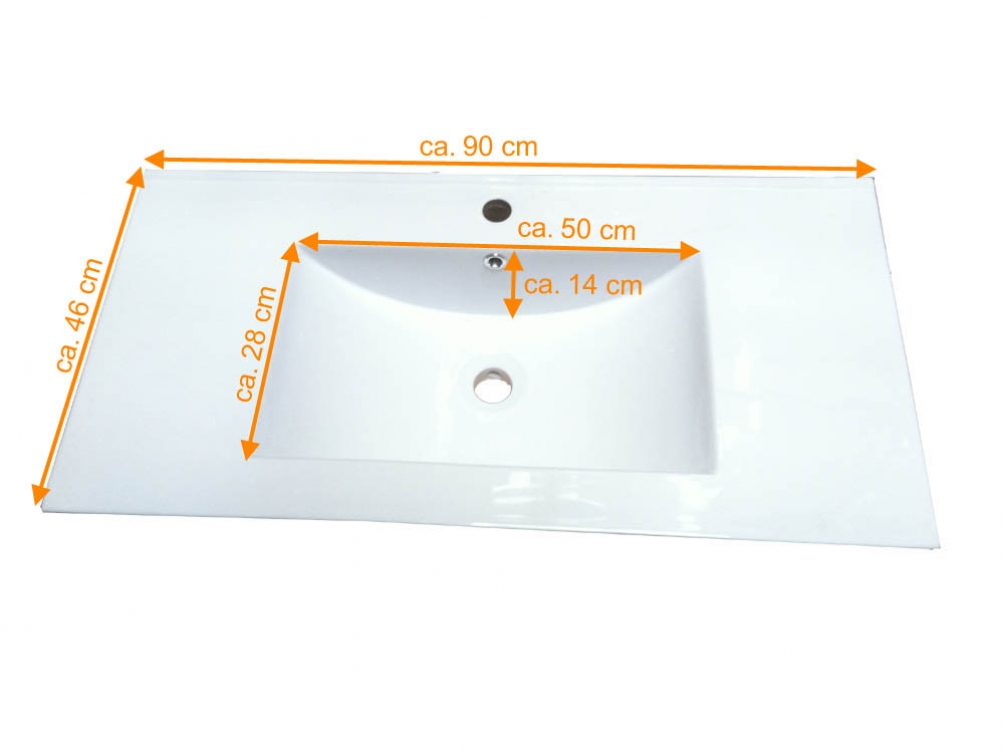 sam® 5tlg. badezimmer set spiegelschrank weiß 90 cm verena, Badezimmer ideen