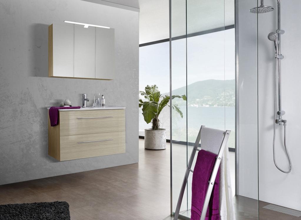 sam 2tlg badezimmer set sonomaeiche 90 cm verena demn chst. Black Bedroom Furniture Sets. Home Design Ideas