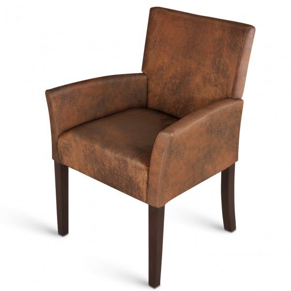 Armlehnen stuhl g nstig kaufen polsterst hle von sam for Armlehnstuhl grau stoff