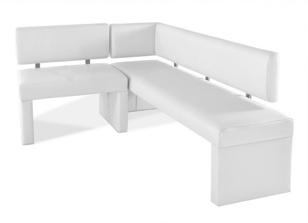 sam eckbank recyceltes leder wei cm x 170 cm selena demn chst. Black Bedroom Furniture Sets. Home Design Ideas