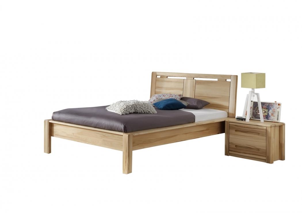 sale massivholzbett 90x200 cm kinder kernbuche christina. Black Bedroom Furniture Sets. Home Design Ideas