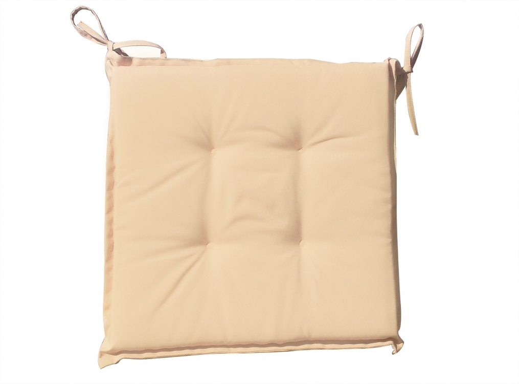 sam sitzkissen 40x40cm f r klappst hle beige. Black Bedroom Furniture Sets. Home Design Ideas