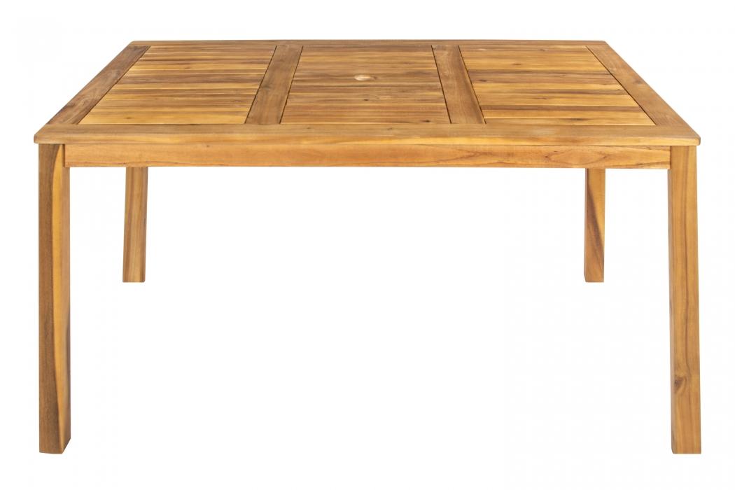 sam gartentisch akazienholz 135 x 80 cm escape demn chst. Black Bedroom Furniture Sets. Home Design Ideas
