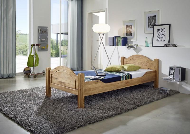 bett 90x200 cm g nstig kaufen einzelbetten von sam. Black Bedroom Furniture Sets. Home Design Ideas