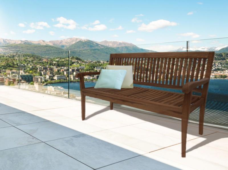 sam a klasse teak gartenbank 3 sitzer 150 cm dumai. Black Bedroom Furniture Sets. Home Design Ideas