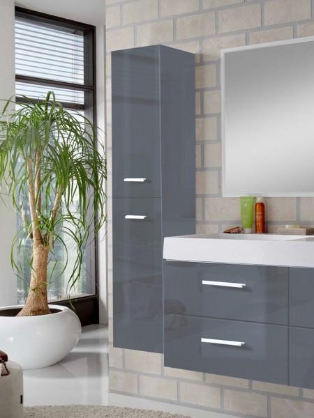 sam badem bel hamburg 3tlg 120 cm hochglanz grau. Black Bedroom Furniture Sets. Home Design Ideas