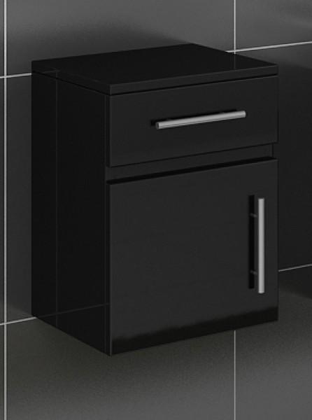 sam badezimmer unterschrank hochglanz schwarz lunar. Black Bedroom Furniture Sets. Home Design Ideas
