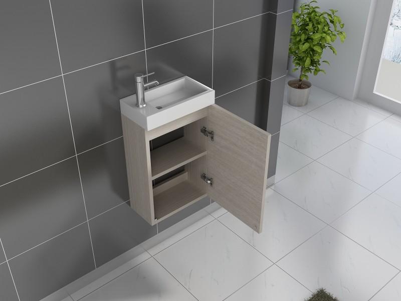 sam badezimmer waschplatz sonomaeiche hochglanz vega. Black Bedroom Furniture Sets. Home Design Ideas