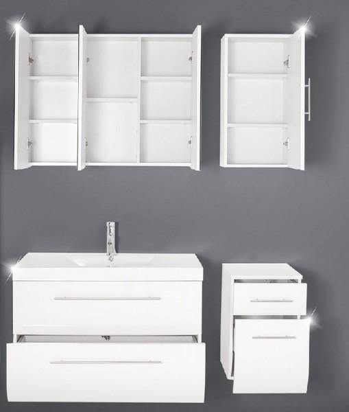 Sam badezimmer z rich 4tlg wei 90 cm beckenauswahl for Badezimmer 90 cm
