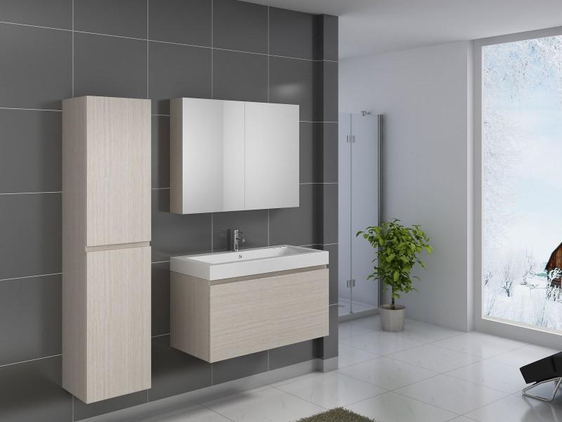 sam badm bel 3tlg set sonomaeiche parma 100 cm demn chst. Black Bedroom Furniture Sets. Home Design Ideas