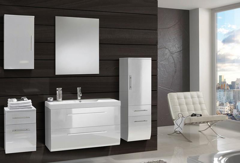 sam badm bel z rich light 5tlg wei hochglanz 90cm. Black Bedroom Furniture Sets. Home Design Ideas
