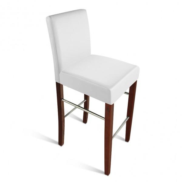 sam barhocker monte recyceltes leder wei kolonial. Black Bedroom Furniture Sets. Home Design Ideas