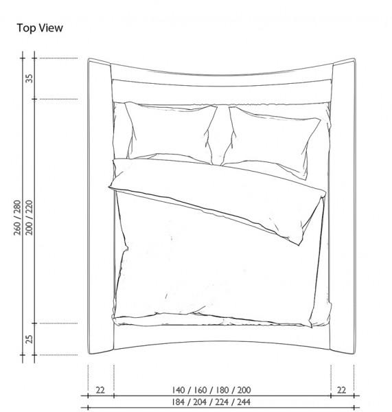 140 bett. zu bett betten 140 x 220 cm holzbett doppelbett. bett, Hause deko