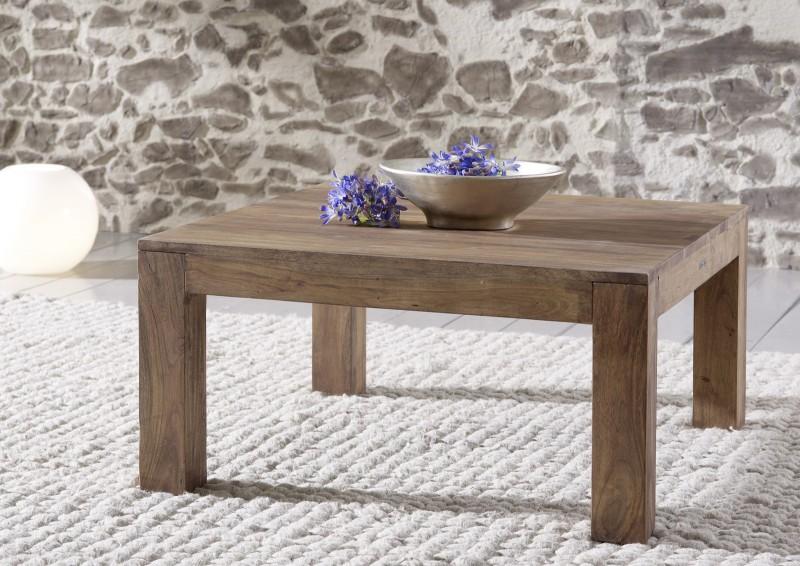 sam couchtisch saber 6608 akazie massiv stone 80 x 40 x 80 cm. Black Bedroom Furniture Sets. Home Design Ideas