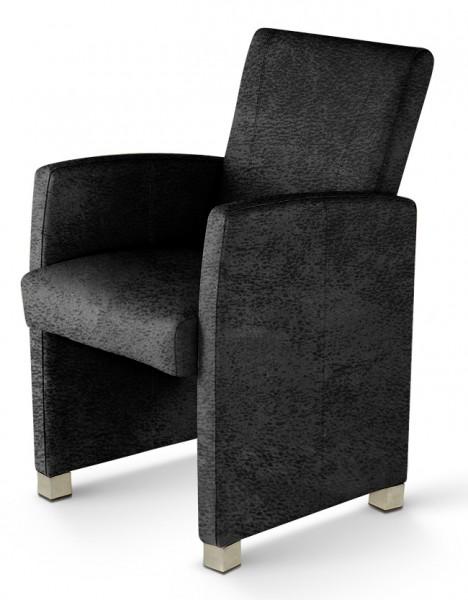 sam design armlehn sessel wildleder stoff grau marcelo demn chst. Black Bedroom Furniture Sets. Home Design Ideas